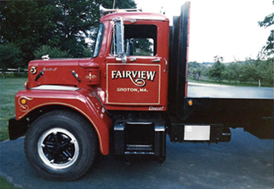Vintage Fairview Truck